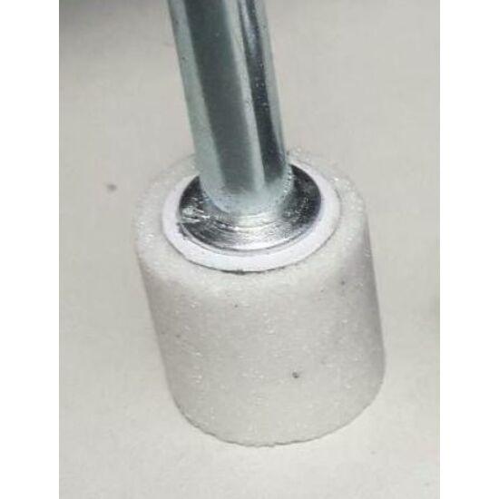 10x25x6   6A60M5V31 Iba 4522/1 6A fehér IBA hengeres kerámia csapos köszörűkorong Iba (Akciós) 32100108