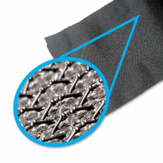 Tépőzár alsó 190mm fekete  Vel Felfogó,tépőzáras csiszolókhoz Hector 12581140