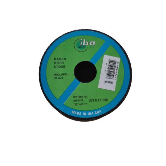 110/90x55x22 1C  80 Q 4B   Iba Furatos kúpos fazék alakú bakelit köszörűkorong Iba (Akciós) 34030011