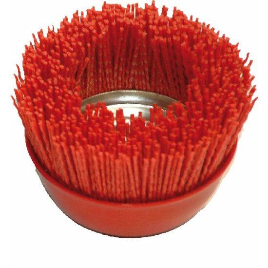 NYLON D100M14  RED P80 FG Műanyag huzalú menetes fazékkefe Fast Grinder 45050012