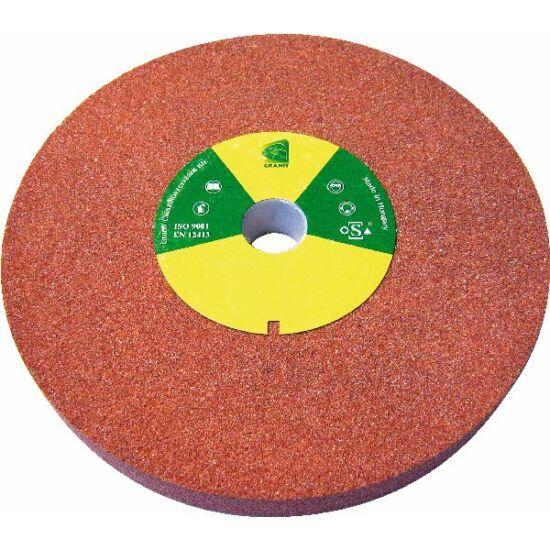 175x20x20  6A60M8V38 Grá  4510 Granit 6A piros sima köszörûkorong D<=200mm Granit 12016150