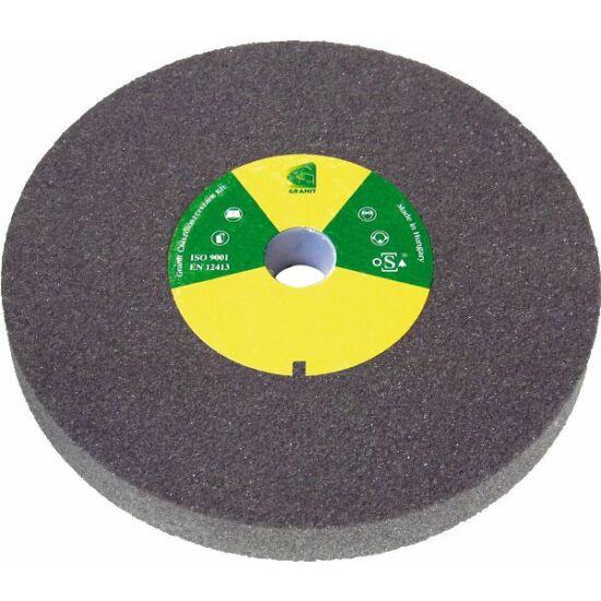 175x25x32  1C60M5V36 Grá  4510 Granit 1C szürke sima köszörûkorong D<=200mm Granit 1201J220