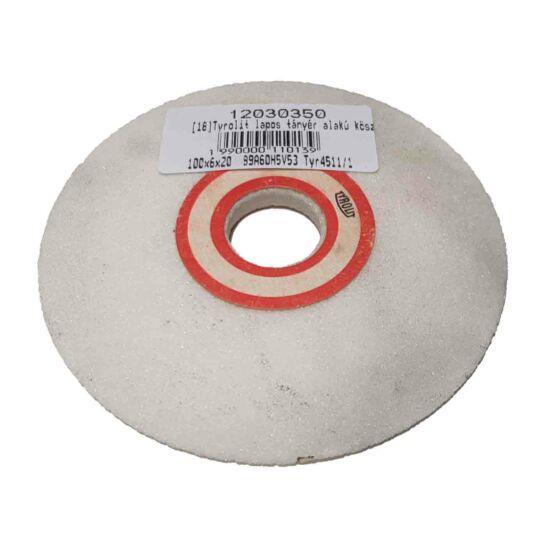 100x6x20  89A60H5V53 Tyr4511/1 Tyrolit lapos tányér alakú köszörûkorong  (Akciós) 12030350