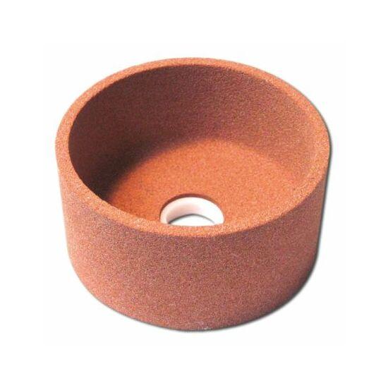 75x40x20   6A46J8V38  Grá 4514 Hengeres fazék alakú köszörûszerszám Granit 12050610