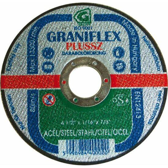 115x3,2 1A36S-BF Graniflex Grá Graniflex acél vágókorong Granit 12080420