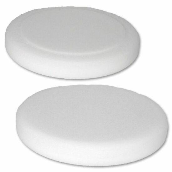 150x25mm szivacs fehér 100Hec Polírozó szivacs Hector 47060004